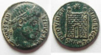 Ancient Coins - CONSTANTINE I THE GREAT AE 3 . NICE