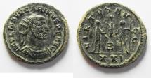Ancient Coins - NICE CARINUS AE ANTONINIANUS. AS FOUND