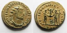 Ancient Coins - BEAUTIFUL AS FOUND: DIOCLETIANUS AE ANTONINIANUS