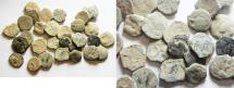 Ancient Coins - AS FOUND: LOT OF 30 NABATAEAN BRONZE COINS