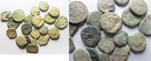 Ancient Coins - NABATAEAN LOT OF 20 AE COINS. AS FOUND