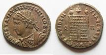 Ancient Coins - BEAUTIFUL CONSTANTINE II AE 3 . ALEXANDRIA MINT IN EGYPT