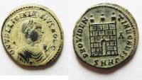 Ancient Coins - LICINIUS I AE 3 . NICE AS FOUND. DESERT PATINA