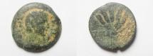 Ancient Coins - EGYPT. ALEXANDRIA. CLAUDIUS AE OBOL.