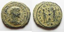 Ancient Coins - PROBUS AE ANTONINAIANUS. NICE ORIGINAL DESERT PATINA