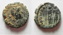 Ancient Coins - HONORIUS AE 4 . AS FOUND
