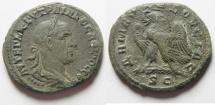 Ancient Coins - SYRIA, Seleucis and Pieria. Antioch. Trajan Decius , Billon Tetradrachm