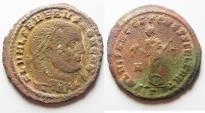 Ancient Coins - Severus II. AE follis. Carthage. AD 305-306.