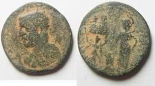 Ancient Coins - Samaria. Neapolis under Trebonianus Gallus (251-253 CE). AE 24mm