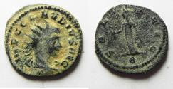 Ancient Coins - CLAUDIUS II GOTHICUS SILVERED ANTONINIANUS