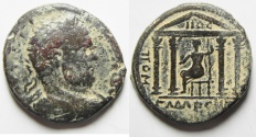 Ancient Coins - Syria, Decapolis.  Gadara under Caracalla (AD 198-217). AE 26mm, 11.24g.