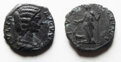Ancient Coins - JULIA DOMNA SILVER DENARIUS