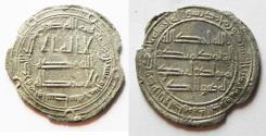 Ancient Coins - ISLAMIC. UMMAYYED SILVER DERHIM. WASIT. 125 A.H