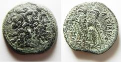 Ancient Coins - PTOLEMAIC KINGS of EGYPT. Ptolemy V Epiphanes. 204-180 BC. Æ 30. Alexandreia mint.