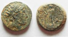 Ancient Coins - SELEUKID KINGDOM. DEMETRIUS III AE 18