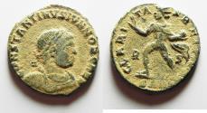 Ancient Coins - AS FOUND: CONSTANTINE II AE FOLLIS