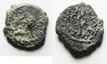 Ancient Coins - Herod the Great 37 - 4 BC. AE Prutah. NEEDS CLEANING