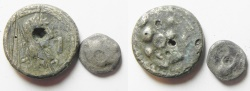 Ancient Coins - LOT OF 2 ANCIENT SILVER COINS. GREEK