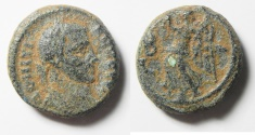 Ancient Coins - Egypt. Alexandria under Domitius Domitianus (AD 297-298). Billon tetradrachm. Struck in regnal year 2 (AD 297/8).