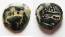 Ancient Coins - PHOENICIA. ARADOS. AE 17, 1ST CENT. B.C
