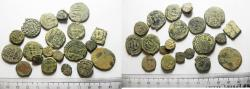 Ancient Coins - ANCIENT ISLAMIC. LOT OF 20 BRONZE COINS. MIXED