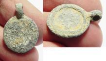 Ancient Coins - ANCIENT GREEK LEAD WEIGHT OR PENDANT?!. 300 B.C