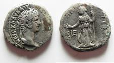 Ancient Coins - EGYPT. ALEXANDRIA. NERO SILVER TETRADRACHM