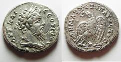 Ancient Coins - CHOICE QUALITY: Septimius Severus, Silver Tetradrachm, Laodicea Mint