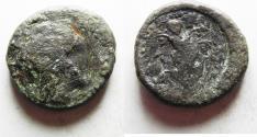 Ancient Coins - KYRENAICA, Kyrene. Circa 308-277 BC. Æ 23