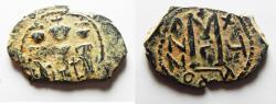 Ancient Coins - Heraclius, with Martina and Heraclius Constantine, Follis, 627-628