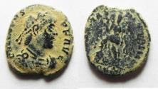 Ancient Coins - VALENS AE 3 . AS FOUND