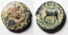 Ancient Coins - AS FOUND. ARABIA. PETRA. ELAGABALUS AE 20