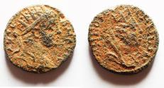 Ancient Coins - MESOPOTAMIA, Carrhae. Caracalla. AD 198-217. Æ 14