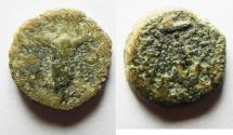 Ancient Coins - JUDAEA. AE prutah of Antiochus VII , mint of Jerusalem. AS DOUND