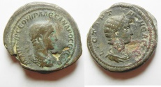 Ancient Coins - Struck in Rome for circulation in Alexandria