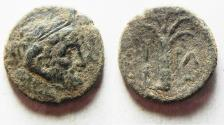Ancient Coins - Kyrenaica. Kyrene. Magas. As king of Kyrene. circa 282/75-261 BC. Æ 19