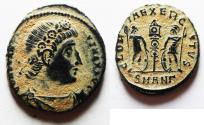 Ancient Coins - CONSTANTINE I AE 4 . ORIGINAL DESERT PATINA