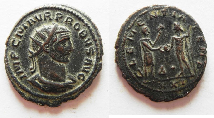 Ancient Coins - NICE: PROBUS AE ANTONINIANUS