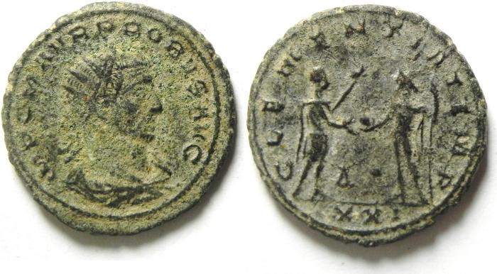 Ancient Coins - PROBUS AE ANTONINIANUS- AS FOUND