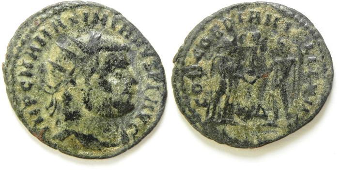 Ancient Coins - MAXIMIAN AE ANTONINIANUS , AS FOUND