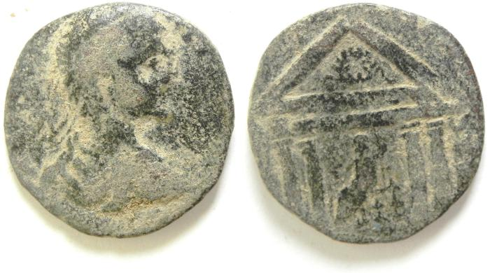 Ancient Coins - PROVINCIAL AE 24 FROM DECAPOLIS??