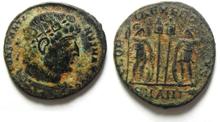 Ancient Coins - CONSTANTINE I AE 3 AS FOUND , NICE