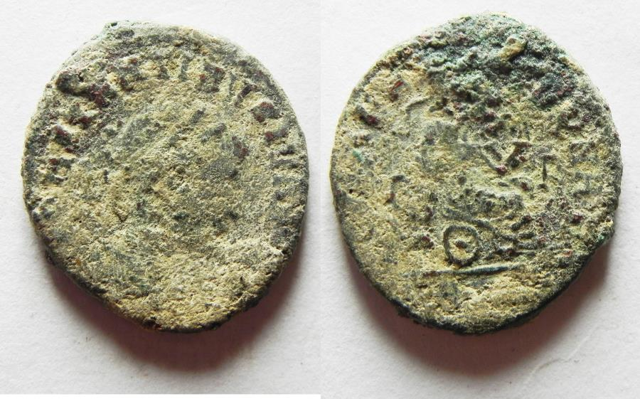 Ancient Coins - CONSTANTINE I AE 3. NICE AS FOUND