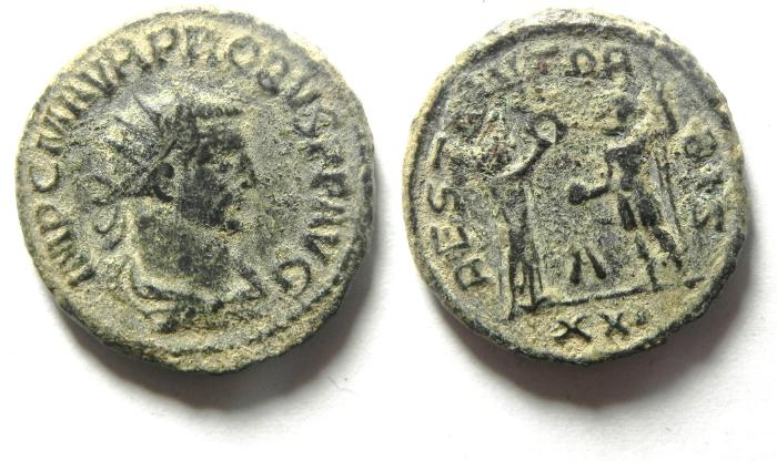 Ancient Coins - PROBUS ANTONINIANUS AS FOUND , CHOICE QUALITY