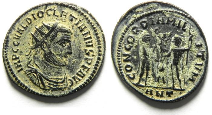 Ancient Coins - CHOICE DIOCLETIAN ANTONINIANUS AS FOUND , NEAR MINT!