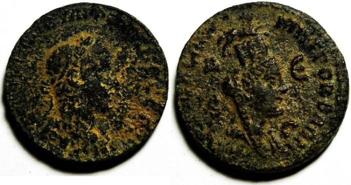 Ancient Coins - SYRIA , PHILIP I AE 29