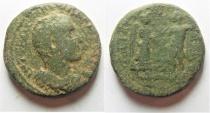Ancient Coins - Judaea. Caesarea Maritima under Trajan Decius (AD 249-251). AE 28mm, 17.33g.