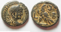 Ancient Coins - Egypt. Alexandria under Elagabalus (AD 218-222). Billon tetradrachm (24mm, 11.93g). Struck in regnal year 2 (AD 218/19).