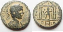 Ancient Coins - PHOENICIA. TRIPOLIS. Elagabalus. 218-222, AE 24