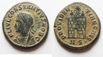 Ancient Coins - BEAUTIFUL CONSTANTIUS II AE 3 , WITH NICE DESERT PATINA